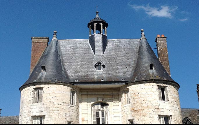 toiture chateau